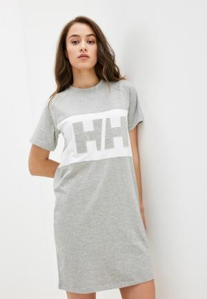 Платье Helly Hansen. Цвет: серый