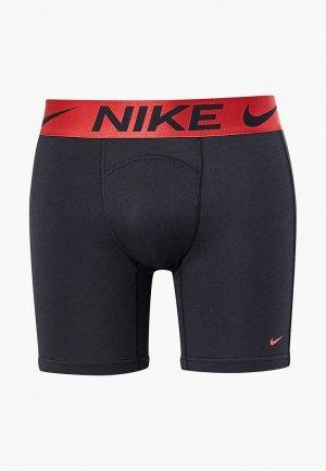 Трусы Nike. Цвет: черный