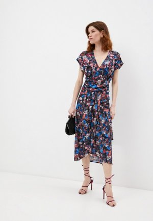 Платье Iro. Цвет: разноцветный