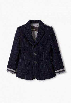 Пиджак Trussardi Junior. Цвет: синий