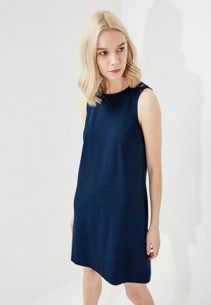 Платье Twin-Set Simona Barbieri. Цвет: синий