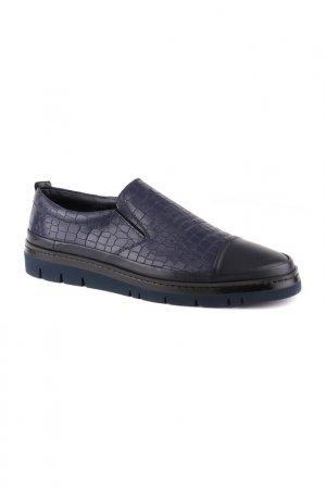 Туфли мужские Gianfranco Butteri. Цвет: тёмно-синий