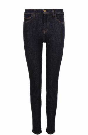 Однотонные джинсы-скинни Current/Elliott. Цвет: синий