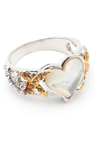 Кольцо Inesse M. Цвет: золотой