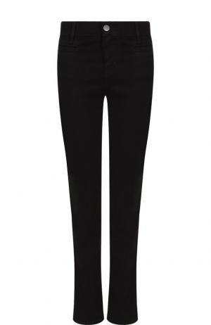 Укороченные расклешенные джинсы MiH Jeans. Цвет: черный