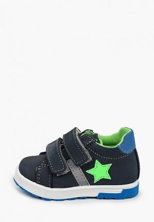 Ботинки Котофей. Цвет: синий