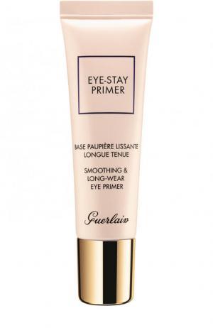 Стойкая разглаживающая база для век Eye-Stay Primer Guerlain. Цвет: бесцветный