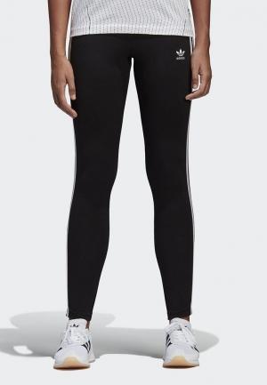 Леггинсы adidas Originals. Цвет: черный