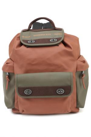 Рюкзак MANDARINA DUCK. Цвет: arabian