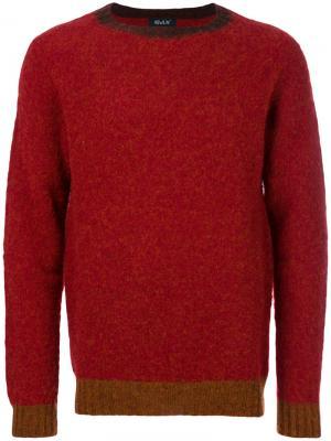 Классический трикотажный свитер Howlin Howlin'. Цвет: красный