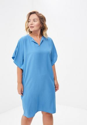 Платье Sparada. Цвет: голубой