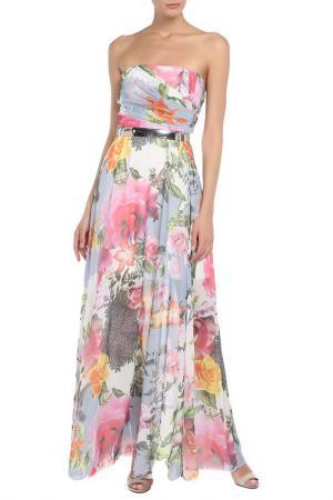 Платье FERVENTE. Цвет: розовый