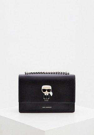 Сумка Karl Lagerfeld. Цвет: черный