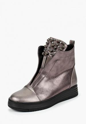 Ботинки GLAMforever. Цвет: коричневый