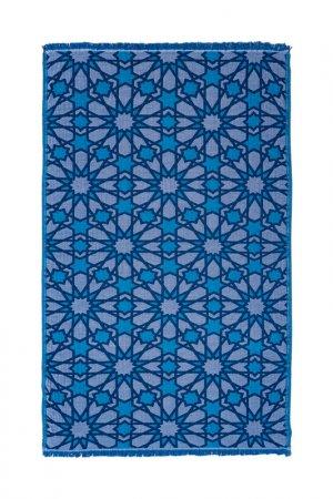 Пляжное полотенце Begonville. Цвет: синий