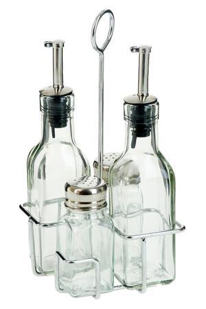 Набор для специй Sinoglass. Цвет: стеклянный