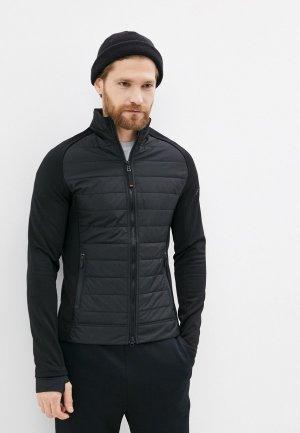 Куртка утепленная Bogner Fire+Ice. Цвет: черный