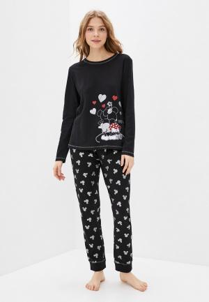 Пижама OVS. Цвет: черный