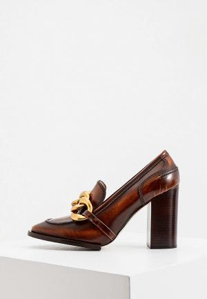 Туфли N21. Цвет: коричневый