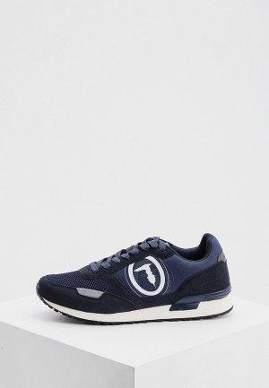 Кроссовки Trussardi. Цвет: синий