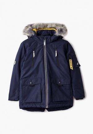 Куртка утепленная 4F. Цвет: синий