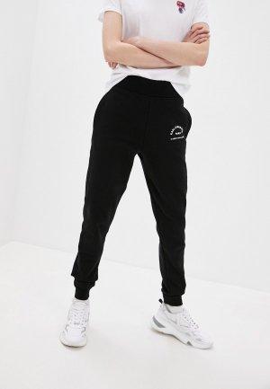 Брюки спортивные Karl Lagerfeld. Цвет: черный