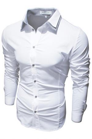 Рубашка Envy. Цвет: белый