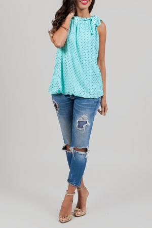 Blouse ANABELLE. Цвет: turquoise