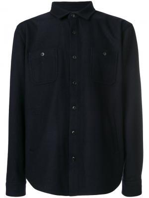 Классическая куртка Edwin. Цвет: синий