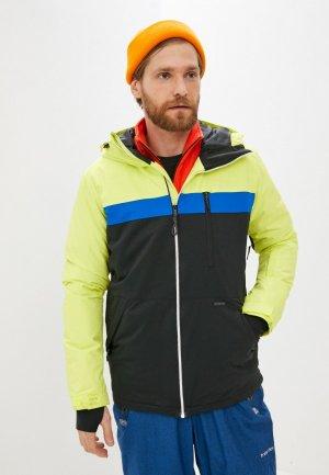 Куртка сноубордическая Billabong. Цвет: черный