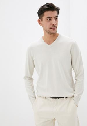 Пуловер United Colors of Benetton. Цвет: бежевый