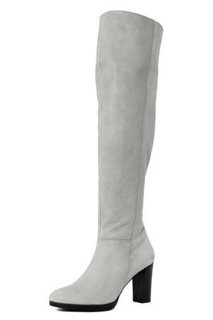 High boots GIANNI GREGORI. Цвет: gray