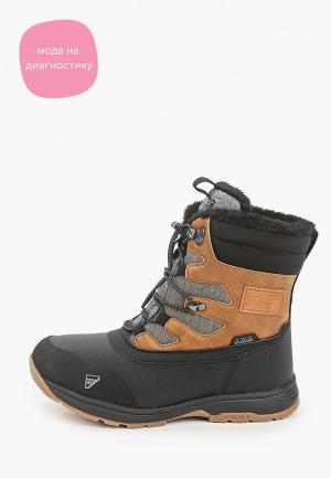 Ботинки Icepeak. Цвет: черный
