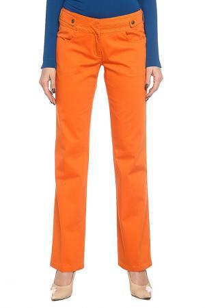 Брюки GF Ferre. Цвет: оранжевый