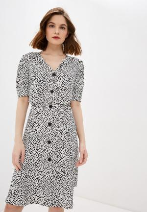 Платье Zarina. Цвет: белый