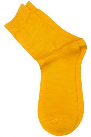 Носки ASKOMI. Цвет: лимонный меланж