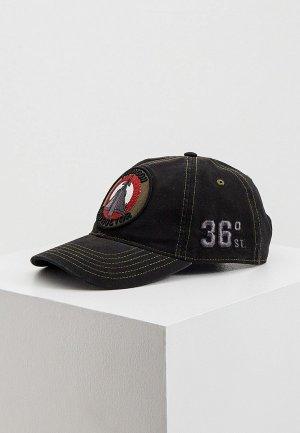 Бейсболка Aeronautica Militare. Цвет: черный