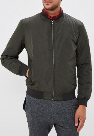 Куртка утепленная Selected Homme. Цвет: хаки