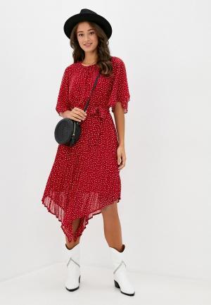Платье Pepe Jeans. Цвет: красный
