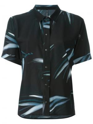 Рубашка Kauai Minimarket. Цвет: чёрный
