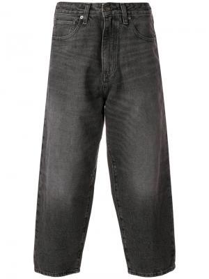 Укороченные широкие джинсы Levis: Made & Crafted Levi's:. Цвет: серый