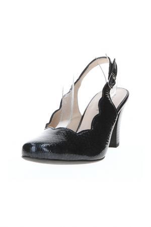 Туфли открытые ALPINA. Цвет: темно-синий