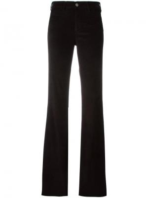 Расклешенные брюки Mih Jeans. Цвет: чёрный