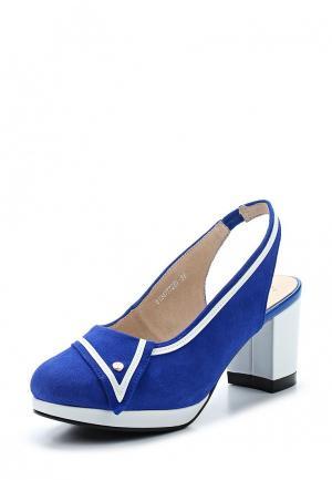 Туфли Balex. Цвет: синий