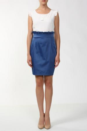 Платье Анора. Цвет: белый
