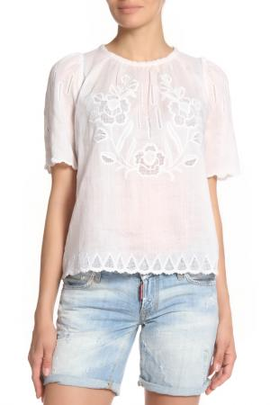 Блуза ISABEL MARANT. Цвет: белый