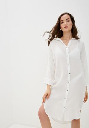 Платье пляжное Seafolly Australia. Цвет: белый