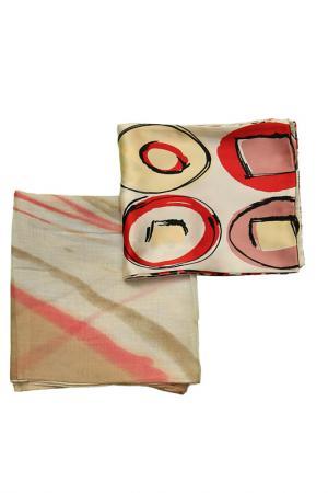 Набор шарфов 2 шт. F.FRANTELLI. Цвет: розовый