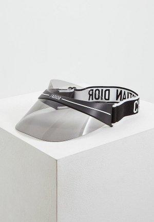 Козырек Christian Dior. Цвет: черный