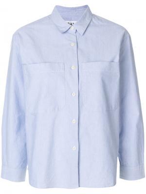 Рубашка мешковатого кроя Margaret Howell. Цвет: синий